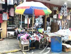 A stall on Orange Street.